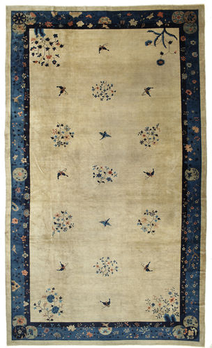 China antique Peking carpet VEXK3