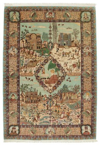 Täbriz 60 Raj Seidenkette 188×280  CarpetVista