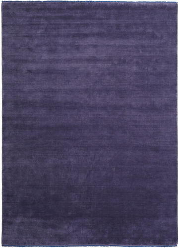 Handloom fringes - Purple carpet CVD7677
