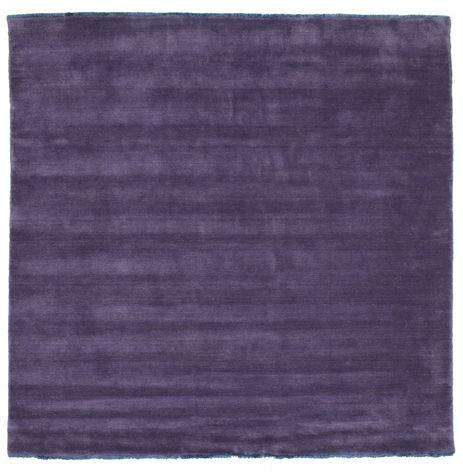 ハンドルーム fringes - 紫 絨毯 CVD7678