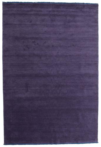 Tappeto Handloom fringes - Porpora CVD7673