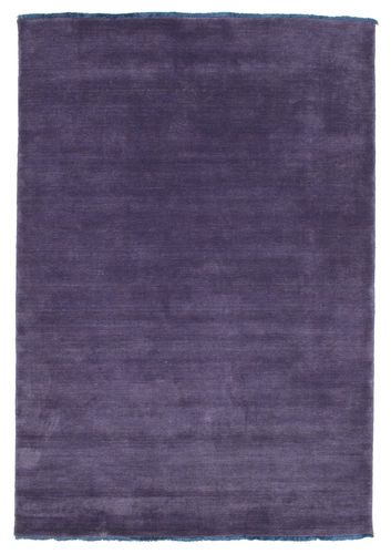 ハンドルーム fringes - 紫 絨毯 CVD7672