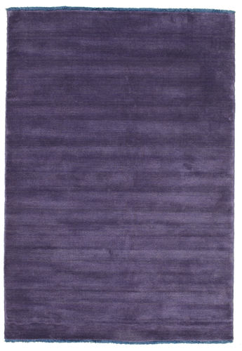 Handloom fringes - Purple carpet CVD7676