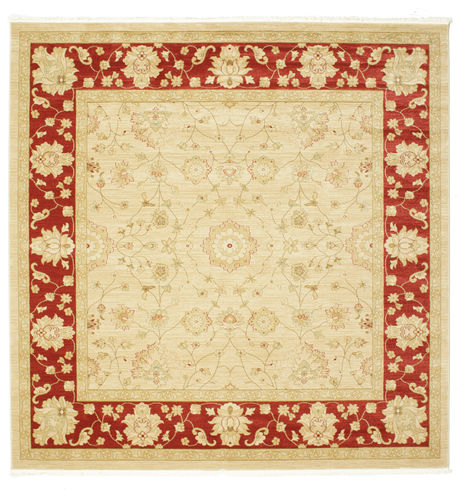 Farahan Ziegler - Bézs / Piros szőnyeg RVD9707