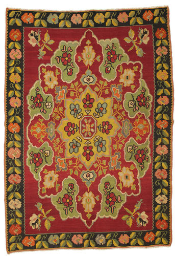 Kilim semi antique carpet XCGS94