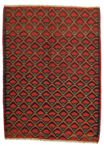 Tapis Kilim semi-antique XCGS194