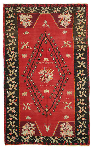 Kilim semi antique carpet XCGS110