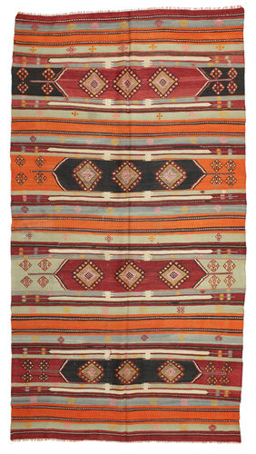 Kilim semi antique Turkey carpet XCGS260