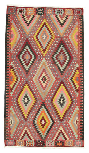 Kilim semi antique Turkey carpet XCGS281