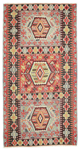 Kilim semi antique Turkey carpet XCGS264