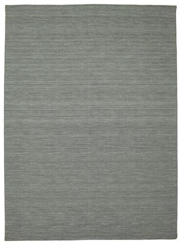 Kelim loom - dunkelgrau Teppich CVD9121