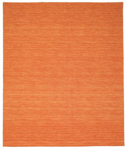 Kilim loom - Orange rug CVD8797