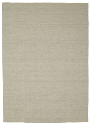 Kilim loom - Light Grey / Beige carpet CVD9082