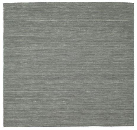 Kilim loom - Dark Grey rug CVD9135