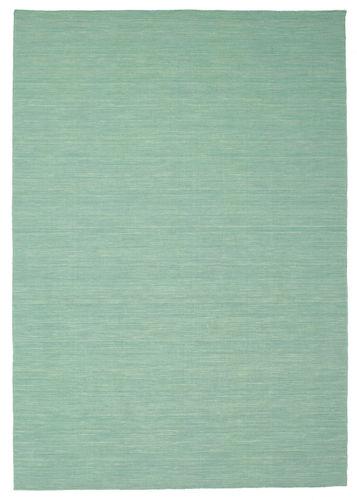 Kelim loom - Mint grün Teppich CVD8679
