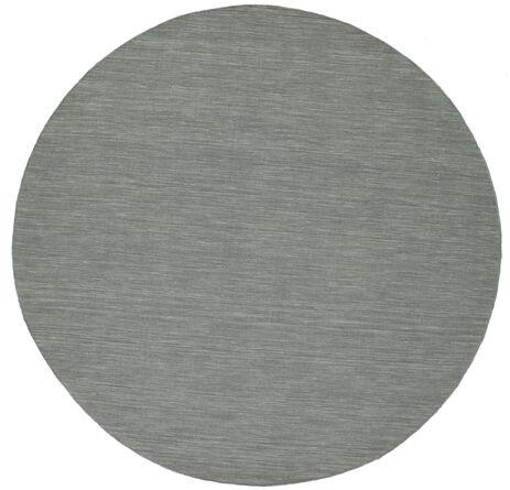 Kelim loom - Tummanharmaa-matto CVD9131