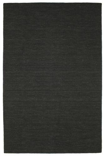 Kelim loom - Schwarz Teppich CVD8930