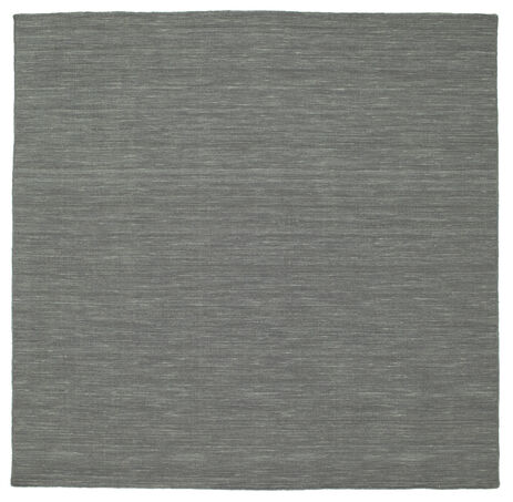 Kilim loom - Dark Grey rug CVD9136
