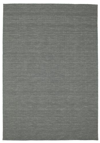 Kilim loom - Dark Grey carpet CVD9127