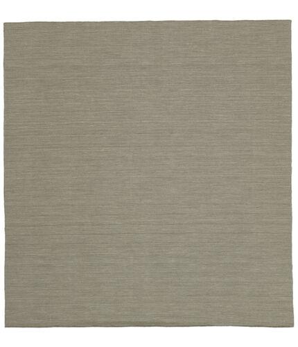 Tapete Kilim loom - Cinzento Claro / Bege CVD9095