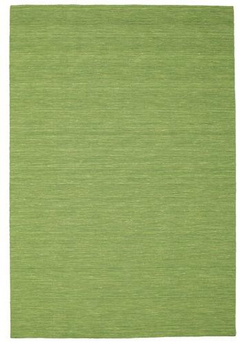 Kilim loom - Green carpet CVD8962