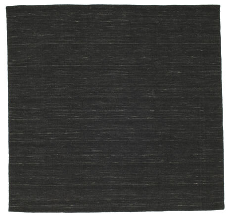 Kilim loom - Black carpet CVD8937