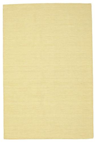 Kilim loom - Yellow carpet CVD8840