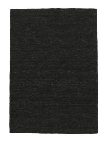 Kilim loom - Black carpet CVD8935