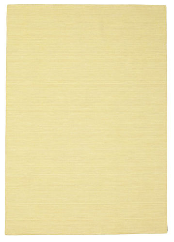 Kilim loom - Yellow carpet CVD8845