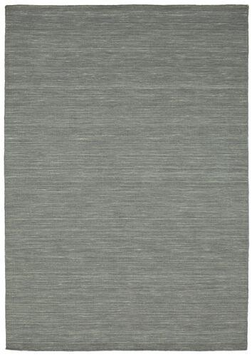 Tappeto Kilim loom - Grigio scuro CVD9134