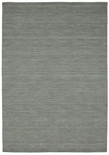 Kilim loom - Dark Grey rug CVD9134