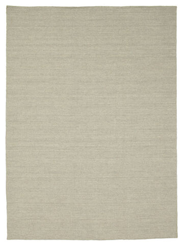 Kelim loom - Ljusgrå / Beige matta CVD9093