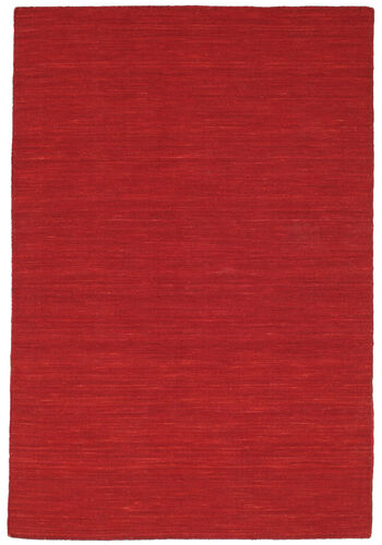 Kilim loom - Dark Red carpet CVD8717