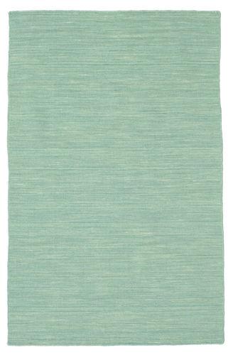 Kilim loom - Mint Green rug CVD8690