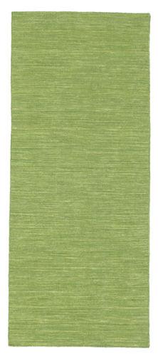 Kelim loom - grün Teppich CVD8974