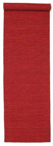 Kilim loom - Dark Red carpet CVD8756