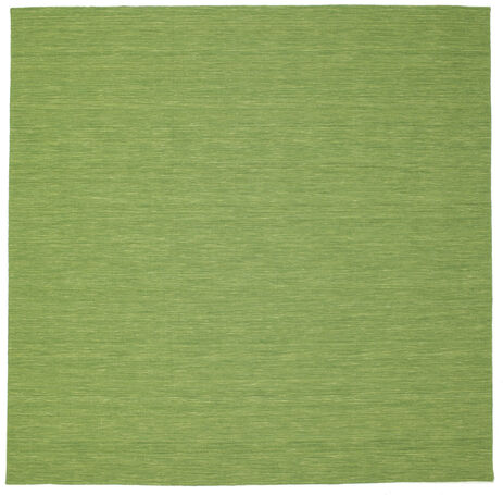 Kilim loom - Green carpet CVD8959