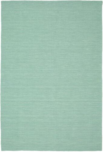Tapis Kilim loom - Mint Vert CVD8676