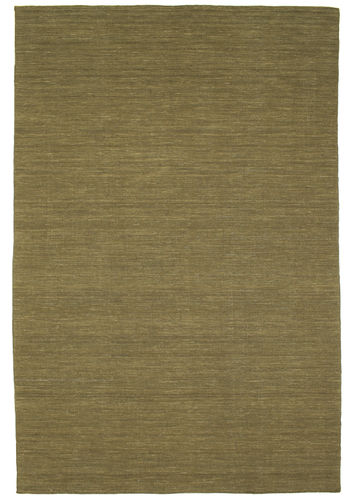 Kelim loom - Olive Teppich CVD8869