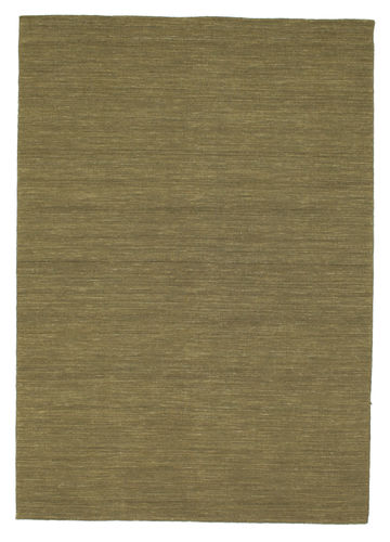 Kilim loom - Olive carpet CVD8876