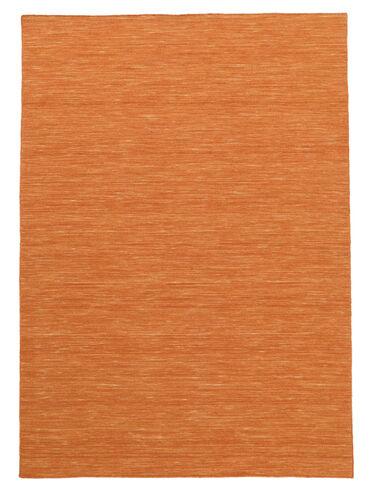 Kilim loom - Orange carpet CVD8778