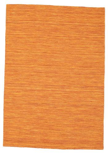 Kilim loom - Orange rug CVD8782