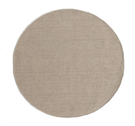 Kilim loom - Light Grey / Beige rug CVD9104