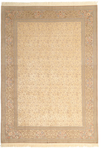 Isfahan silk warp Signed: Dardashti carpet TTB38