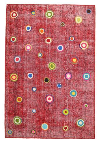 Colored Vintage Relief tapijt MPB10