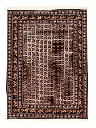 Tabriz 50 Raj silk warp carpet ABCN284