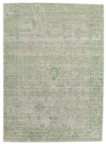 Maharani - Grey / Green rug CVD12156