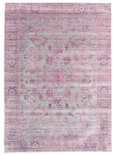 Maharani - Grå / Rosa tæppe CVD12168