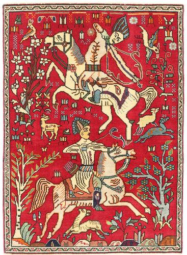 Täbriz Patina figurativ Teppich XVZE1220