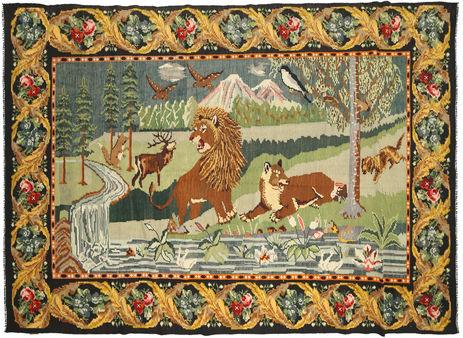 Rose Kelim carpet XCGZB1867